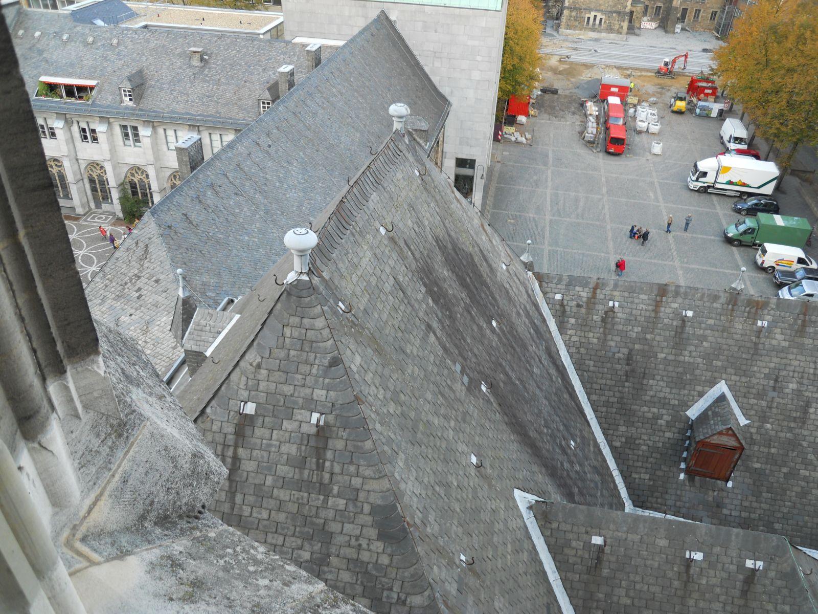 Dachstuhl Nikolauskapelle
