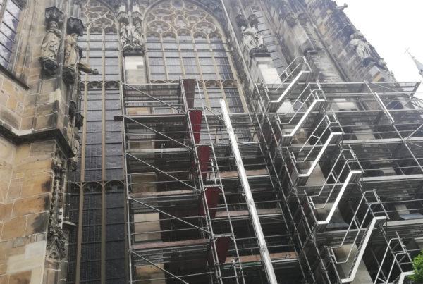 Sanierung der Chorhalle gestartet